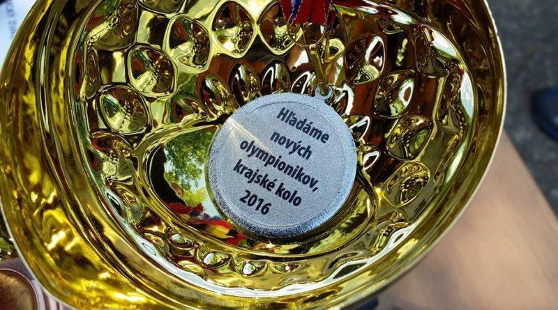 Hľadáme nových olympionikov krajské kolo 2016